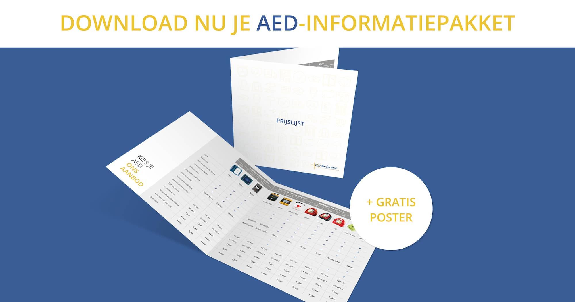 AED-informatiepakket