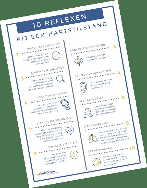 wat te doen bij hartstilstand