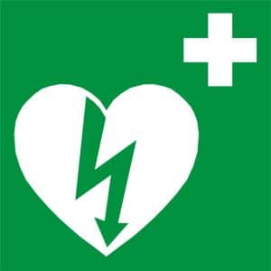 AED-teken