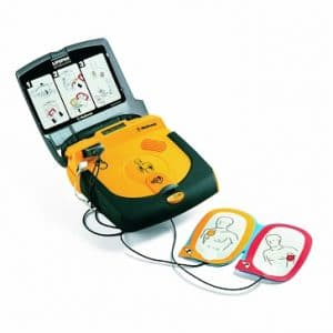 LIFEPAK CR Plus open
