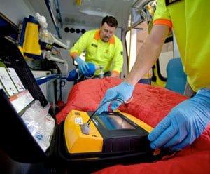 LP1000 in ambulance