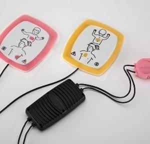 Lifepak pediatrische elektroden