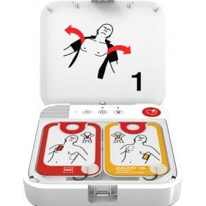 geopende AED van Stryker