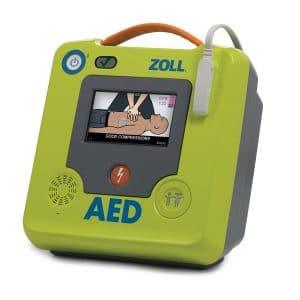 ZOLL AED3 met pediatrische knop