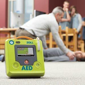 ZOLL-AED3 gebruiken