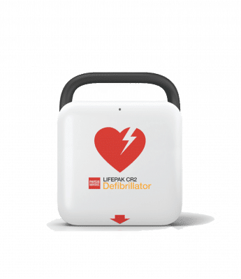 Lifepak CR2 USB defibrillator
