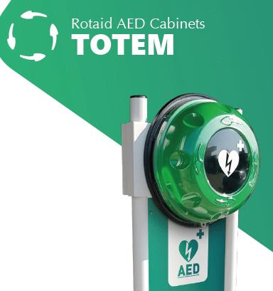 Rotaid Totem + Voet en Front Sign