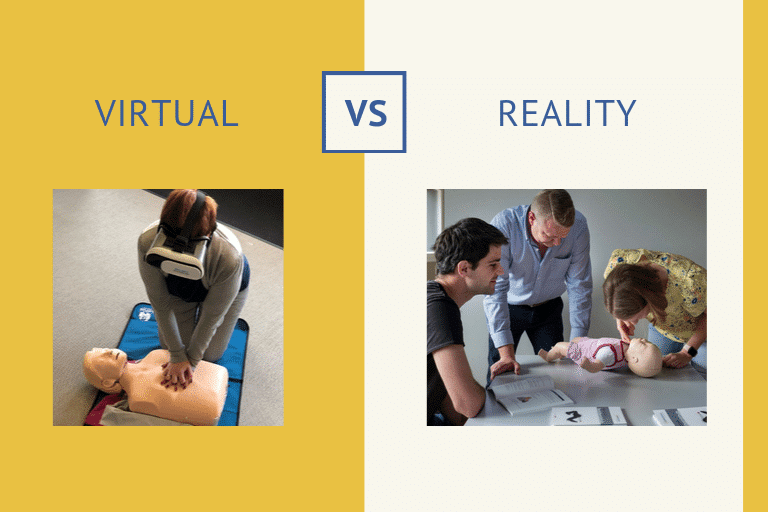 reanimeren VR bril