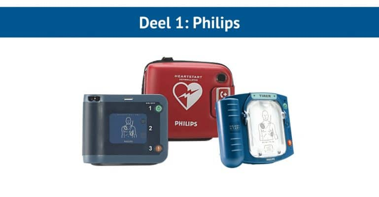 Philips AED-toestellen