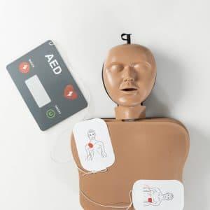 AmbuMan School met AED
